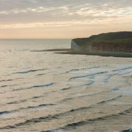 Day's End At The Cuckmere Haven